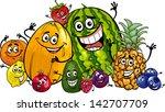 cartoon illustration of funny... | Shutterstock . vector #142707709