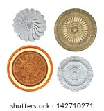 Collection Of Carved Stone And...