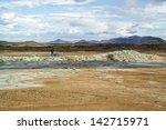 geothermal area namafjall ...   Shutterstock . vector #142715971