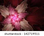 Red Futuristic Blossom