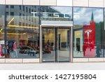 d sseldrof  germany   june 2019 ...   Shutterstock . vector #1427195804