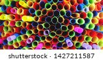 close up pattern of colorful...   Shutterstock . vector #1427211587