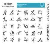 winter   summer sports glyph... | Shutterstock .eps vector #1427273471
