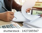 document report or business... | Shutterstock . vector #1427285567