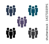 people vector icon. person... | Shutterstock .eps vector #1427333591
