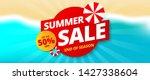 summer sale banner template...   Shutterstock .eps vector #1427338604