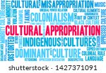 cultural appropriation word... | Shutterstock .eps vector #1427371091