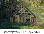 Old Wooden Shack In The...
