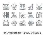 smart farm related line icon... | Shutterstock .eps vector #1427391011