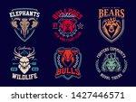 emblem design templates with...   Shutterstock .eps vector #1427446571