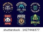 emblem design templates with... | Shutterstock .eps vector #1427446577