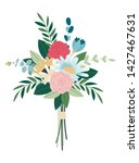wedding concept. collection of ... | Shutterstock .eps vector #1427467631