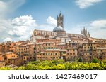 Siena Town With Cathedral  Vie...