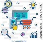 e commerce icons. online...