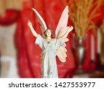 A Female Art Nouveau Angel In A ...
