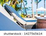 umbrella and chair around...   Shutterstock . vector #1427565614