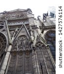 north notre dame cathedral...   Shutterstock . vector #1427576114