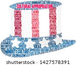 cultural appropriation word... | Shutterstock .eps vector #1427578391