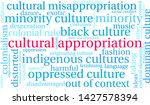cultural appropriation word... | Shutterstock .eps vector #1427578394