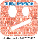 cultural appropriation word... | Shutterstock .eps vector #1427578397