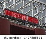 old trafford  manchester ...   Shutterstock . vector #1427585531