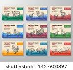 fine quality organic vector... | Shutterstock .eps vector #1427600897