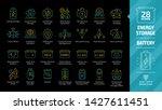 energy storage color outline...   Shutterstock .eps vector #1427611451