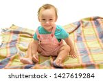 cheerful and carefree. happy... | Shutterstock . vector #1427619284