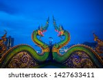 Green  serpent. It is a work of art that is used to refer to the Buddhism in the serpent.