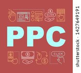ppc word concepts banner. pay...