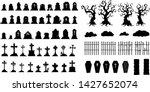 Creepy Halloween Graveyard...