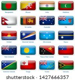button flags south asia and...   Shutterstock .eps vector #1427666357