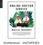 medical insurance   online... | Shutterstock .eps vector #1427695301
