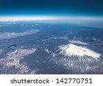 Mt Fuji Bird Eye View