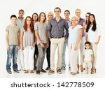 a large group of different... | Shutterstock . vector #142778509
