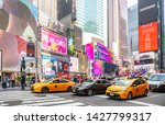 Usa  New York  Times Square....