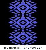 lace border. ikat seamless... | Shutterstock .eps vector #1427896817