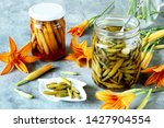 Daylily Flowers Buds Pickled....
