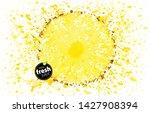 circle of pineapple closeup...   Shutterstock .eps vector #1427908394