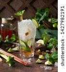 summer refreshing drink ... | Shutterstock . vector #1427982191
