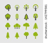 tree icon | Shutterstock .eps vector #142799581