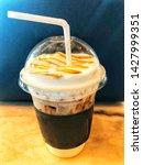 1 cup of coffee drink | Shutterstock . vector #1427999351