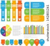 infographic element set | Shutterstock .eps vector #142801261