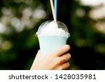 cool blue hawaii  cool summer... | Shutterstock . vector #1428035981