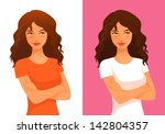 illustration of a beautiful...   Shutterstock .eps vector #142804357