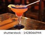 margarita drink on a table | Shutterstock . vector #1428066944
