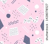 modern geometric memphis... | Shutterstock .eps vector #1428078527