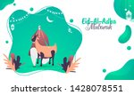 poster or banner design with... | Shutterstock .eps vector #1428078551