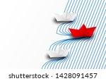 business leadership  financial... | Shutterstock .eps vector #1428091457