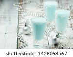three shots with frost jack... | Shutterstock . vector #1428098567